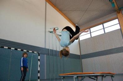 Gelegentlich wird auch mal auf Tischtennis verzichtet und die Trainingszeit einfach genutzt um Spaß zu haben.