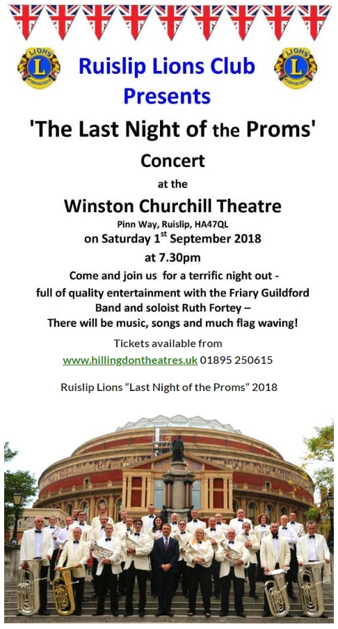 Last Night of the Proms with Friary & Ruth Fortey @ Winston Churchill Theatre | England | United Kingdom