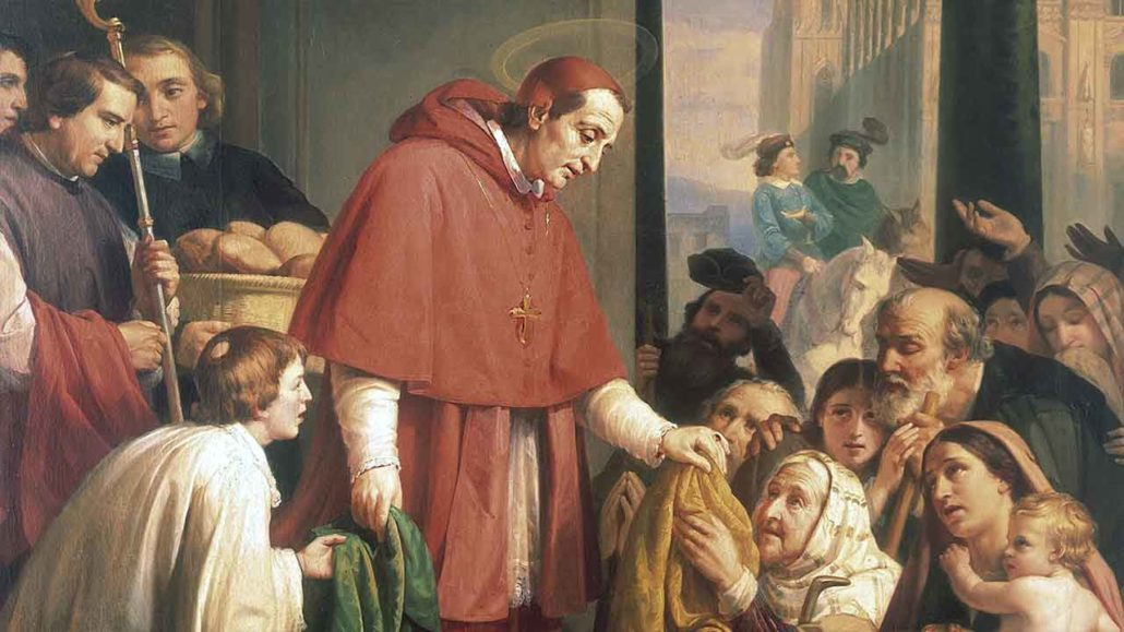 Image result for free pictures of  St. Charles Borromeo