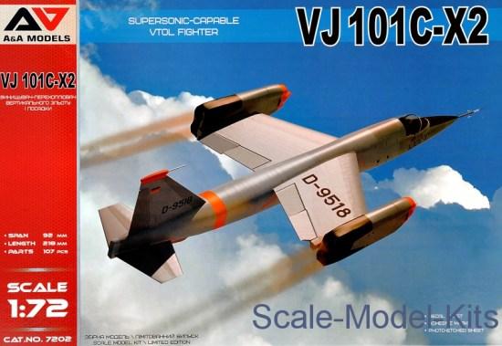 VJ101C-X2 Supersonic-Capable VTOL Fighter