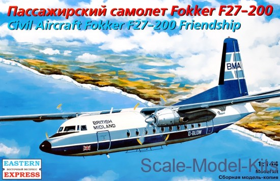 Civil aircraft Fokker 27-200