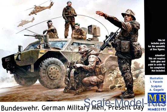 Bundeswehr. German military men, Present day