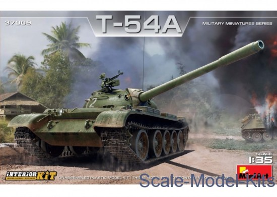Tank T-54A, Interior kit