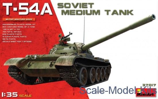 Soviet medium tank T-54A