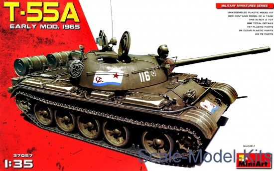 Russian Medium Tank T-55A mod. 1965, early