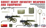 Soviet heavy infantry weapons & mine detector