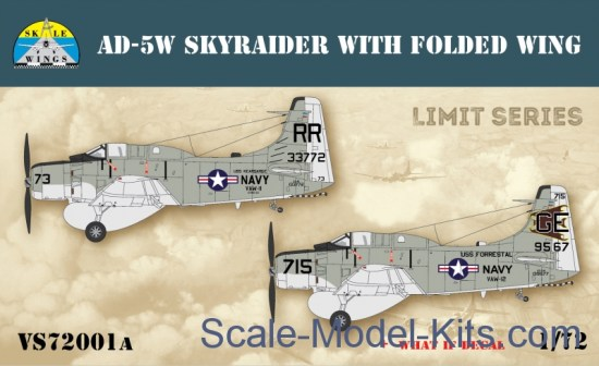Skyraider AD-5W with folded wing (Limited edition)