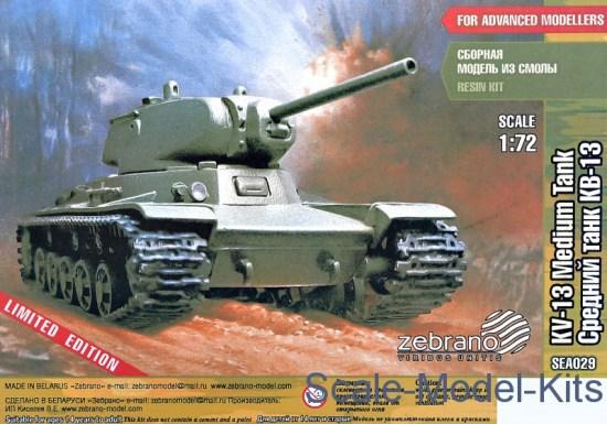 Soviet medium tank KV-13