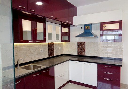 3 BHK Home Interior Designers Scale Inch Bangalore