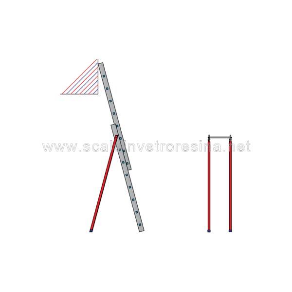 Rompitratta 1° tronco per scale in vetroresina