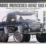 Brabus Mercedes Benz G63 6x6 Detail Up Set For Autoart Hobby Design Hd03 0471 2016