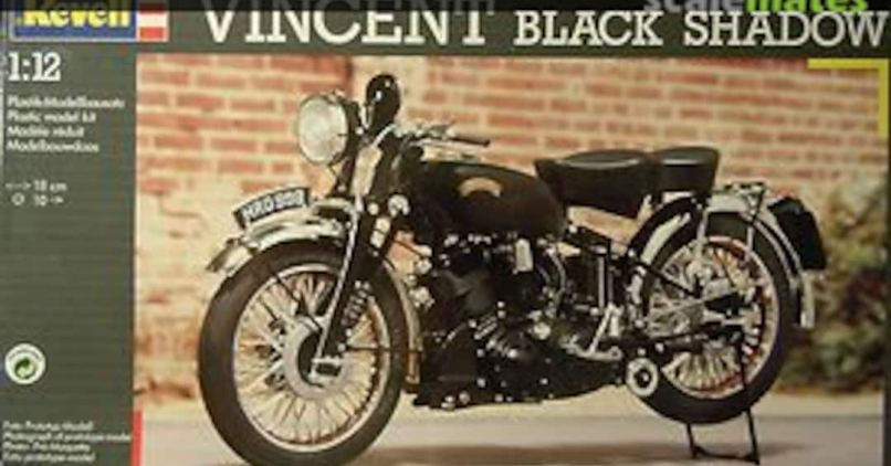 Vincent Black Shadow Revell 7952 1992