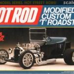 Modified Custom T Roadster Revell 7137 1986