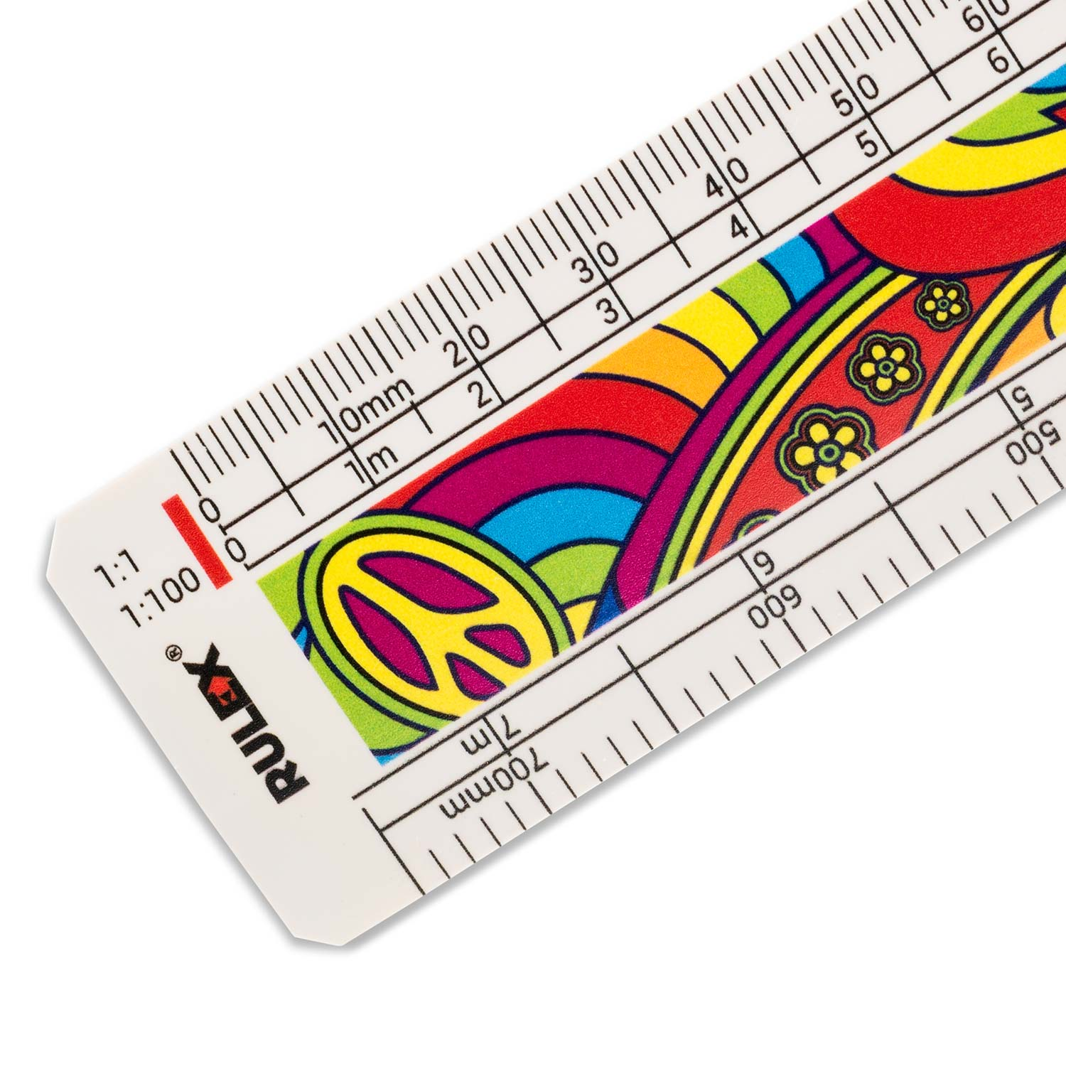 150mm Rulex Architects Flat Oval Scale Ruler With