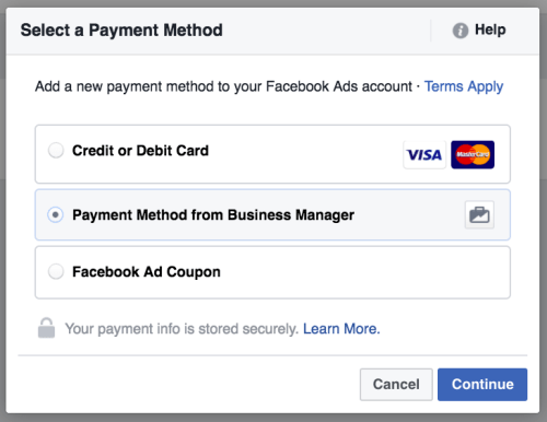 pilihan payment method