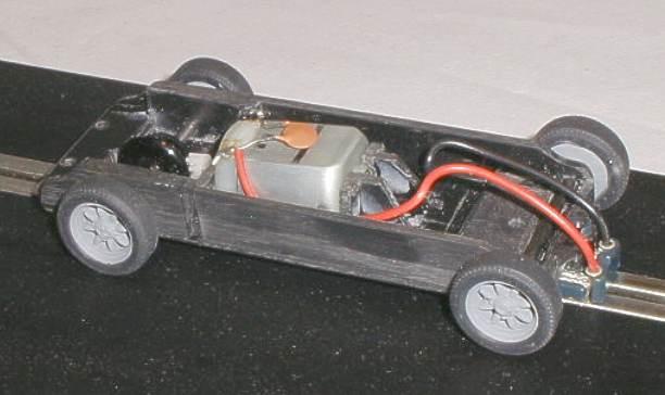 Slot car chassis kit
