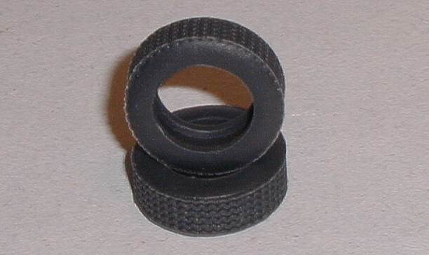 Tyres tires for Scalextric Aston Martin DB5 and VW Beetle cars