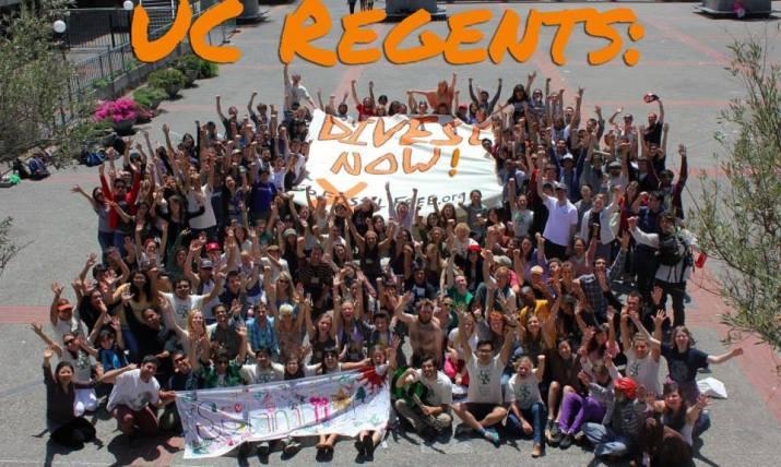 uc regents divest