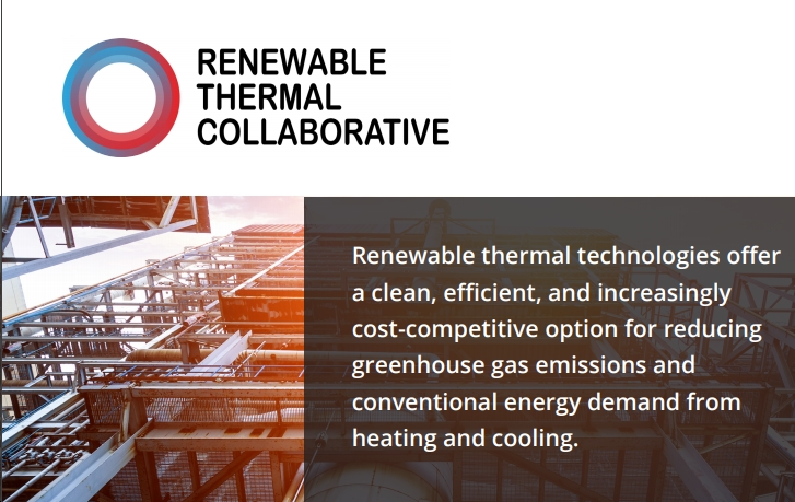 """""""Hot Topic"""" of Renewable Thermal Technologies Gains Momentum with New Initiative"""