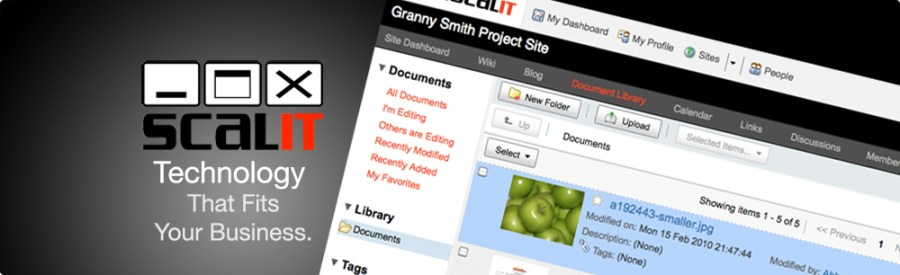 Easily manage your company's files and documents.