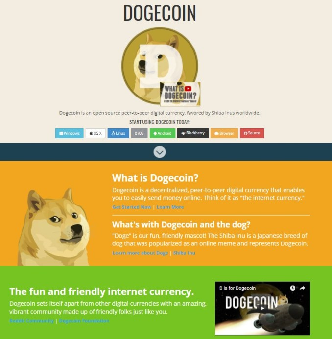dogecoin.com