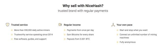 NiceHash Seller