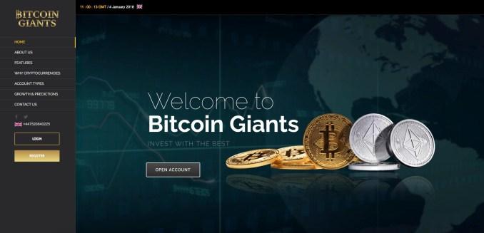 bitcoingiants.com - Bitcoin Giants