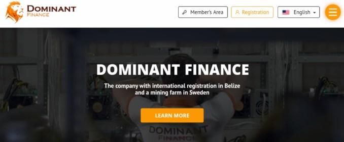 Dominant-finance.com - Scam Review
