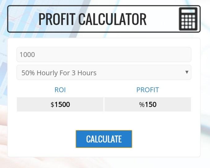 Rainydollars.com - Profit Calculator