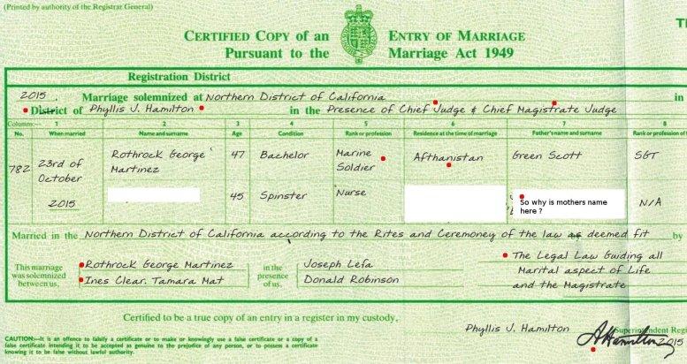 MARRIAGE EDIT