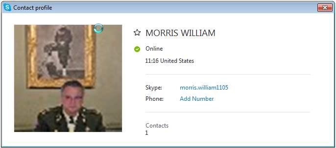 MORRIS WILLIAM SCR