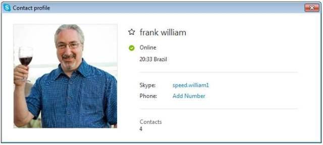 frank william SCR