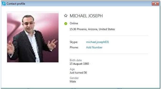 Michael Joseph SCR