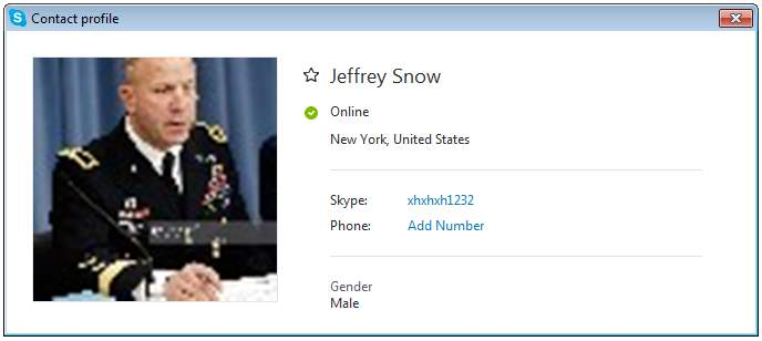 SCAMPOLICE GROUP. SCAMMER MESSAGES DATABASE: RS/Army Leave Scammer: Jeffrey Snow (Skype scammer)