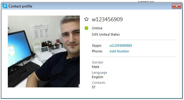 Online dating scams skype