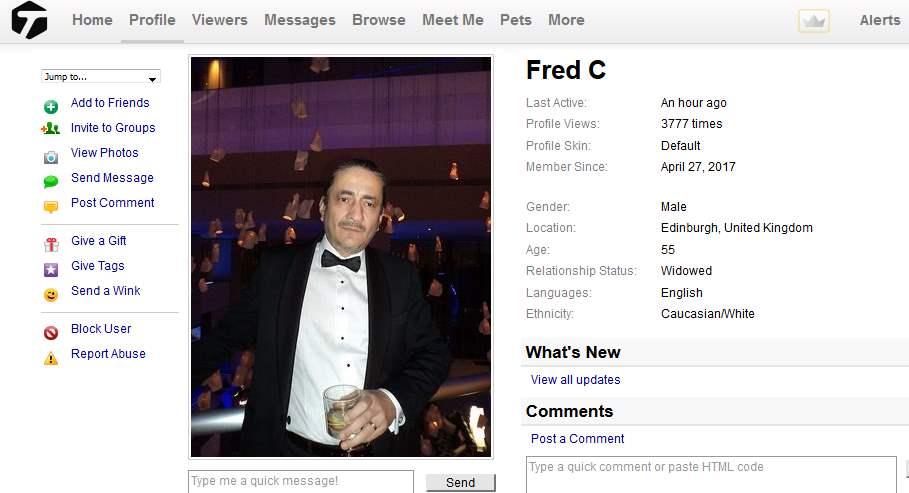 Romance Scam/Advance Fee Fraud: Fred Crowder /Shantex Express Courier (Malaysia)