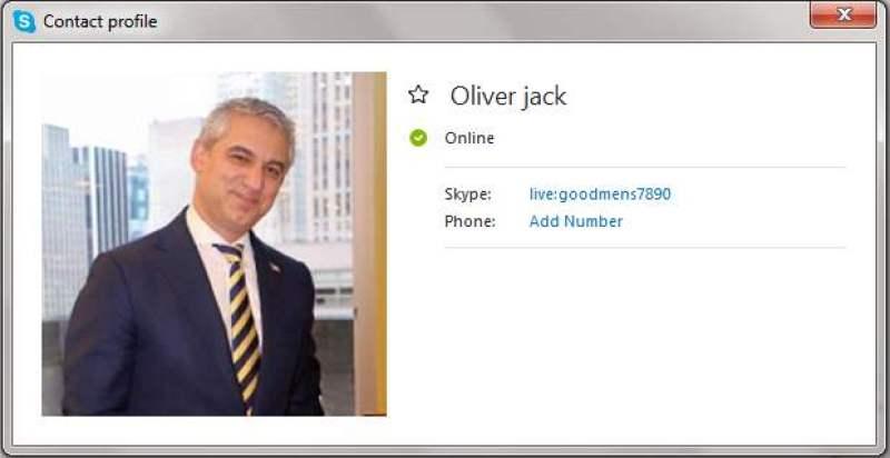 Scammers on Skype: live:goodmens7890 (OLIVER JACK) –
