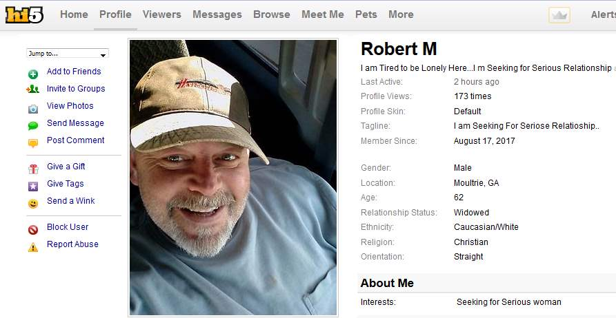 Congrats-your-busted-35: 419 Scam/Romance Scam: ROBERT MONGON