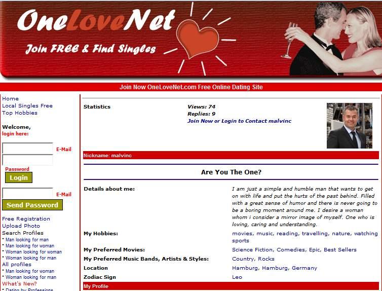 Langfristige Dating-Website