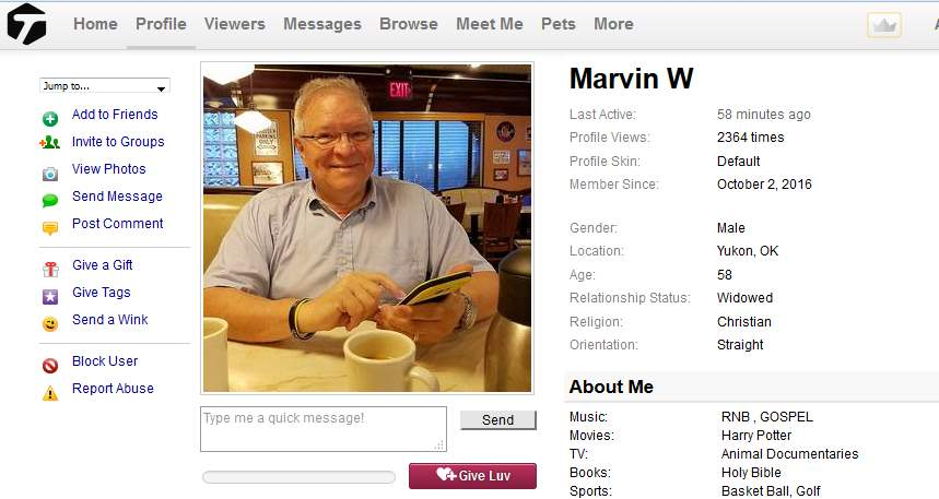 Congrats-your-busted 61: 419 Scam/Romance Scam: MARVIN EUGENE WHITED