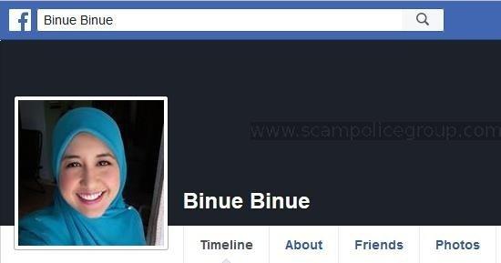SCAM/SPAM: Advance Fee Fraud/Phishing: BINUE BINUE (Senegal)
