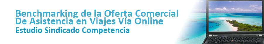 SCAN Benchmarking de la oferta comercial de asistencia en viajes via online