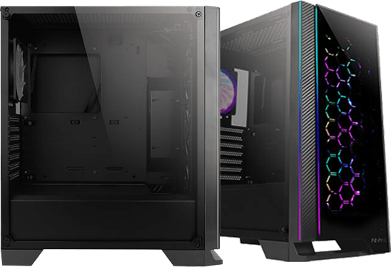 Antec NX600 PC Gaming Case with Addressable RGB