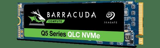 Seagate BarraCuda Q5 Series 500GB M.2 PCIe NVMe SSD