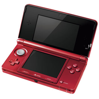 RED 3DS Console LN41870 NIN954 SCAN UK