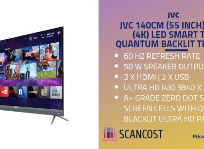 JVC 55inch TV