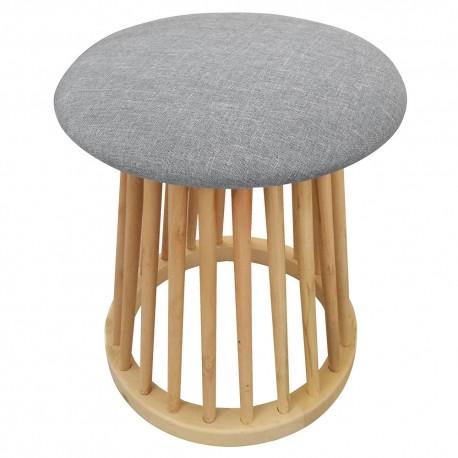 tabouret style scandinave nordik gris