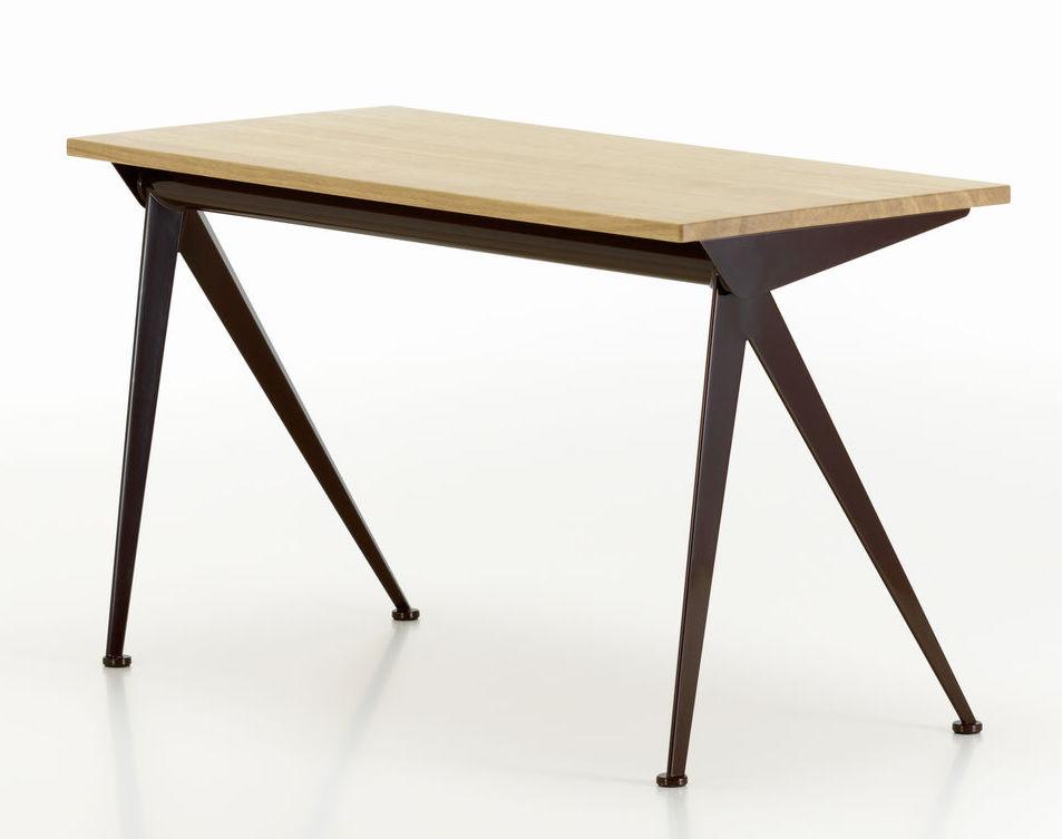 jean prouve a dessine plusieurs versions du bureau compas direction au cours des annees 1950 en declinant le principe de construction caracteristique de son