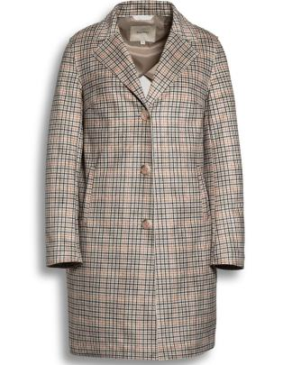 Beaumont printed spring coat