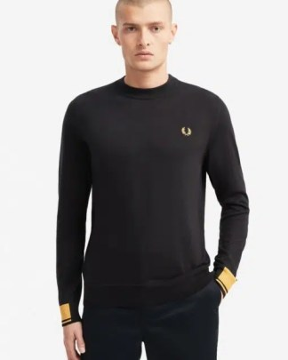 Fred perry Abstract knit